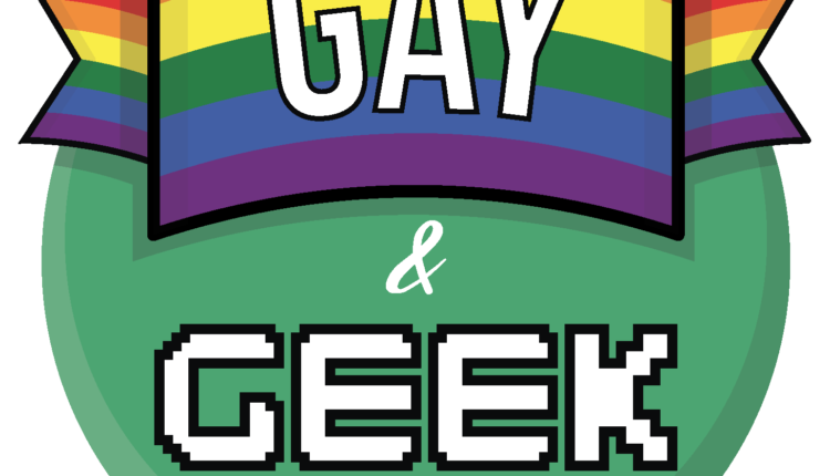 Gay and Geek Logo 350p