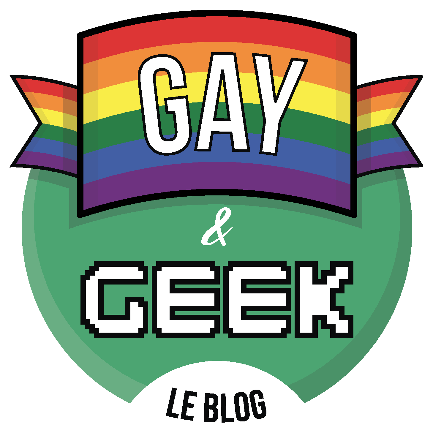 Gay and Geek Logo 350p