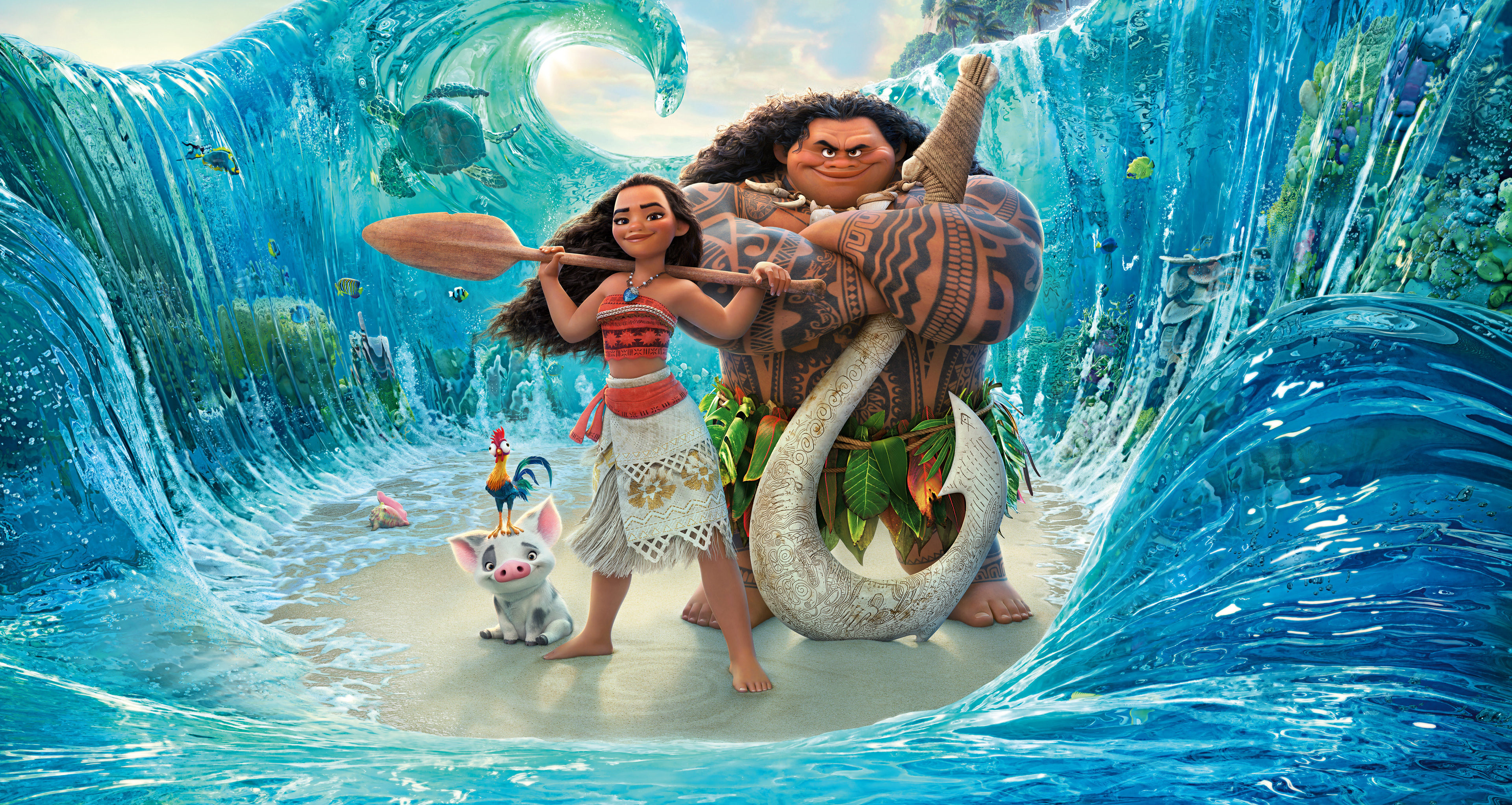 Disney – 118 – Vaiana