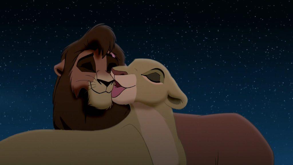 """Résultat de recherche d'images pour """"le roi lion kiara et kovu"""""""