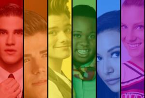 Les personnages LGBTQ+ dans Glee