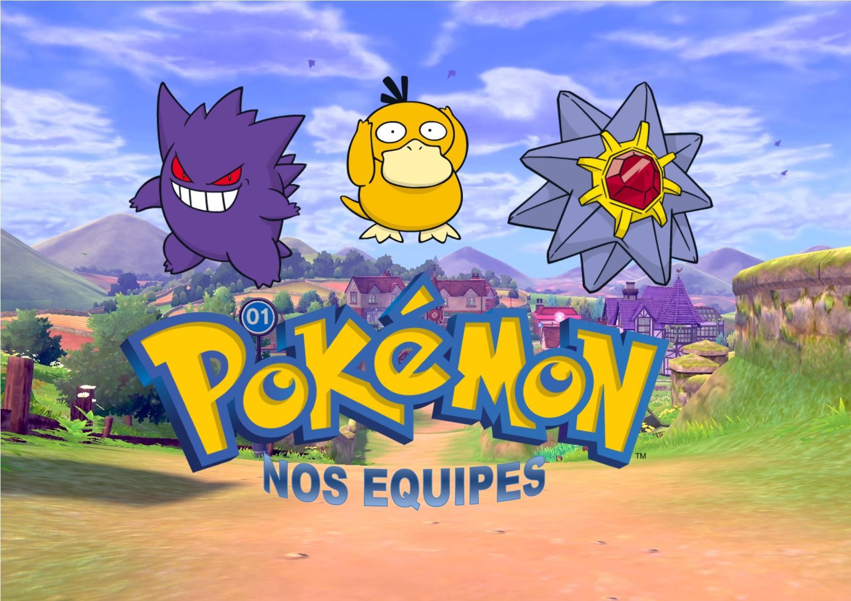 Pokemon – Quelles sont nos équipes idéales ?