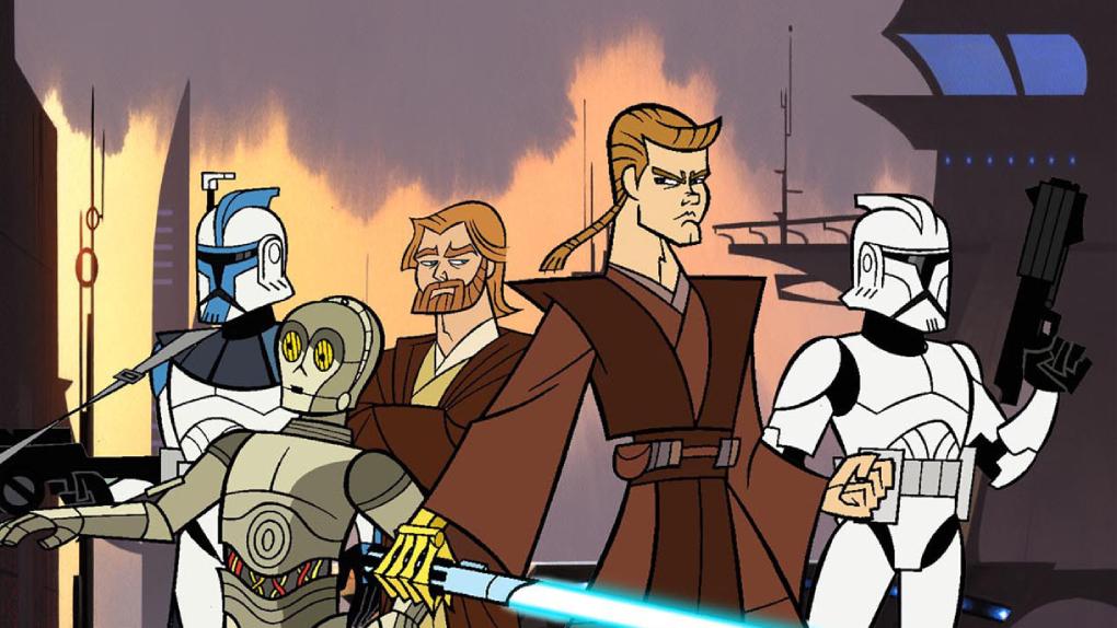 Star Wars : Clone Wars (2003)