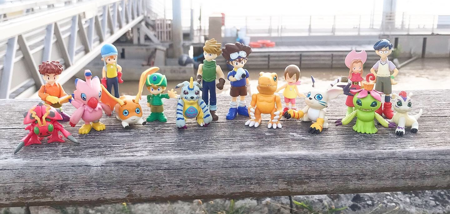 Collection : Figurines DIGIMON