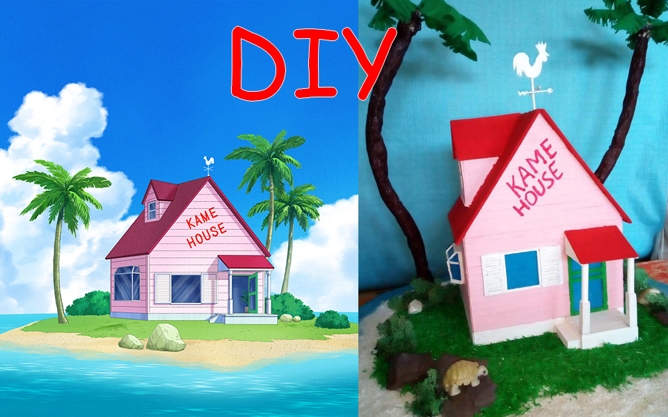DIY : Kame House de Dragon Ball