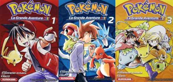 Je découvre le Manga Pokemon, La Grande Aventure !