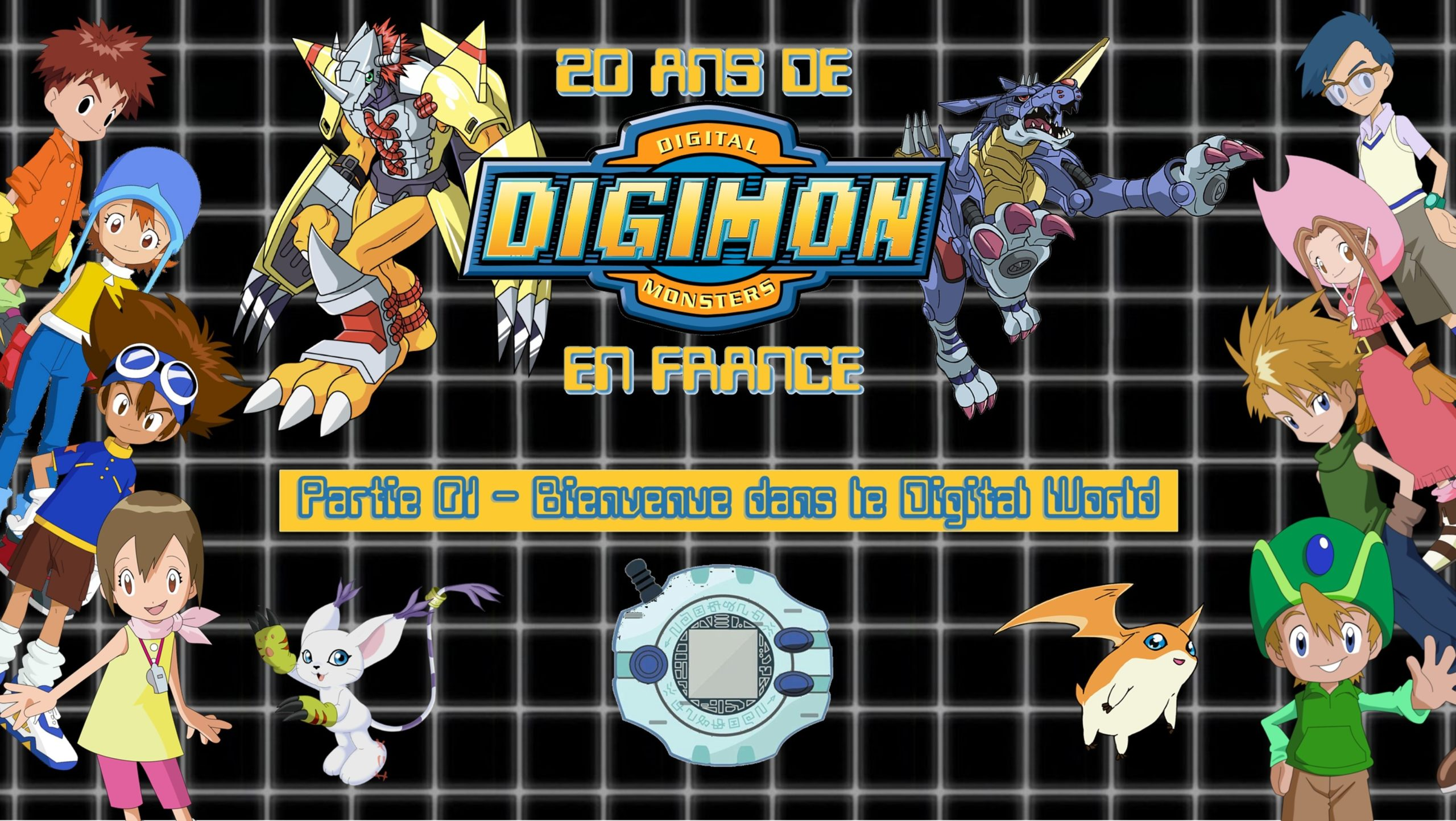 20 ans de Digimon en France : La Série Documentaire en 4 épisodes !