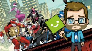 Les Tortues Ninjas s'associent aux Power Rangers dans le dernier Comics !