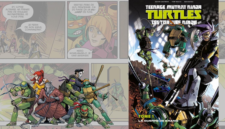 Poursuivre les Comics Tortues Ninja avec le Tome 1 : La Guerre de Krang !