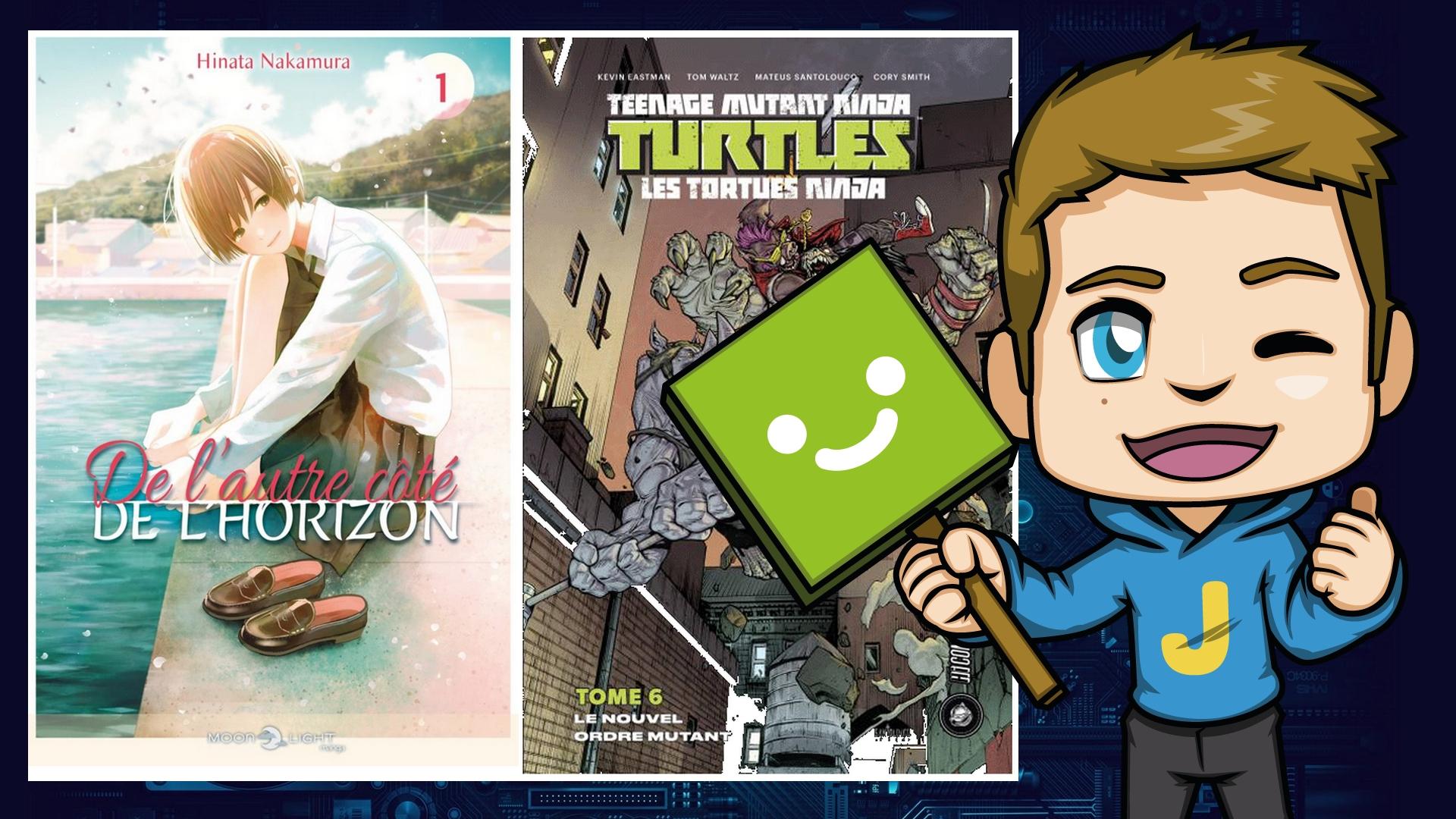 Nos lectures de la semaine #1 – De la magie, de l'amitié et des tortues ninja !