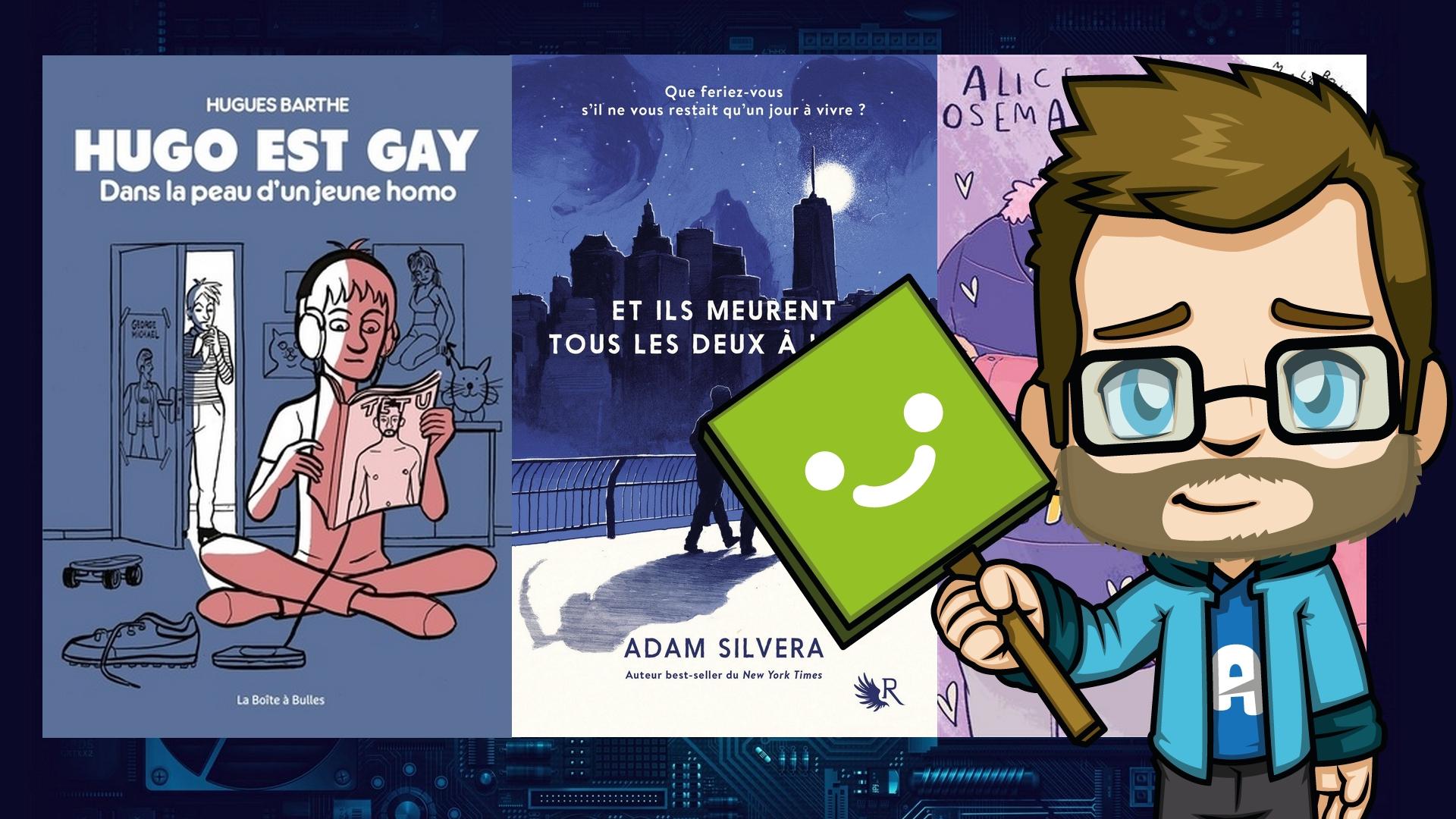 Nos récentes lectures #6 – Pour une fois, c'est Aldric qui lit le plus !