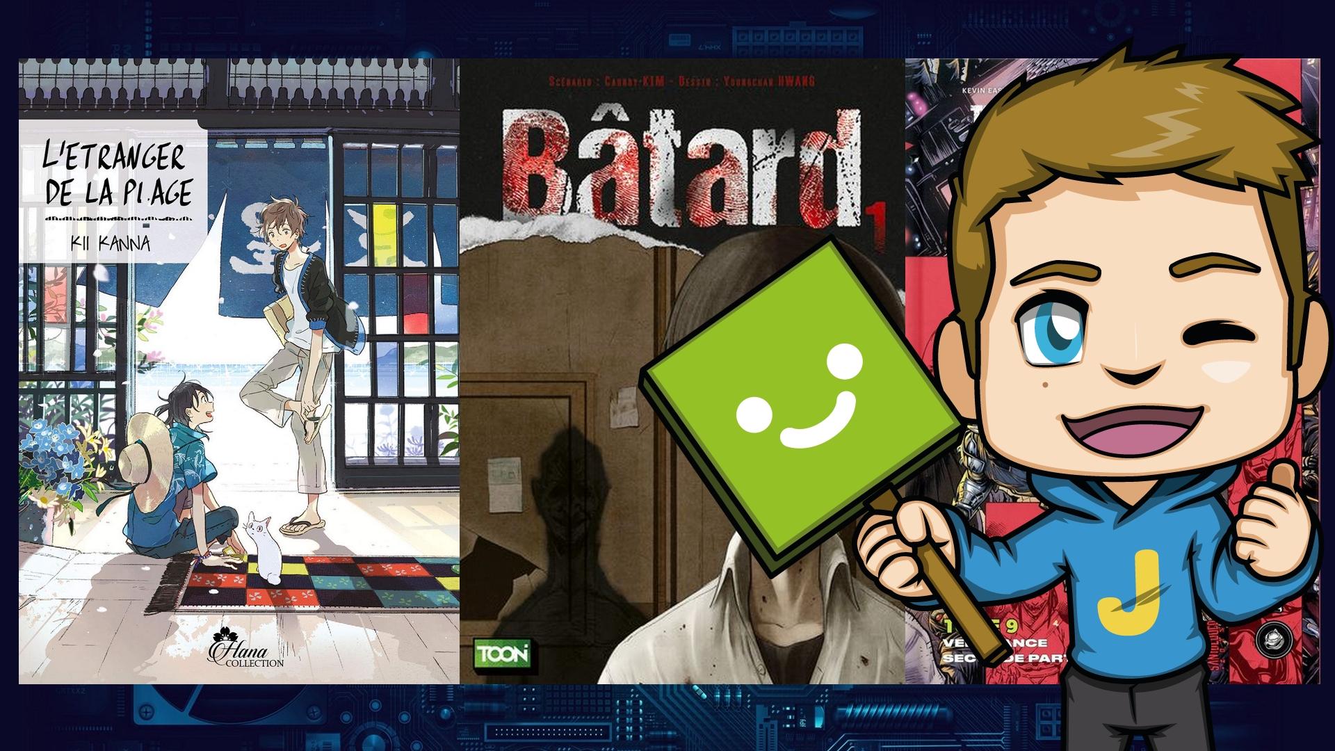 Nos récentes lectures #7 – Des mangas et des comics !